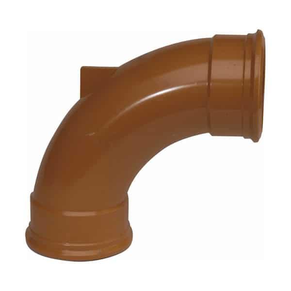 110mm-Underground-Drainage-90d-Double-Socket-Rest-Bend