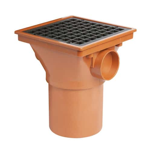 110mm-underground-drainage-square-hopper