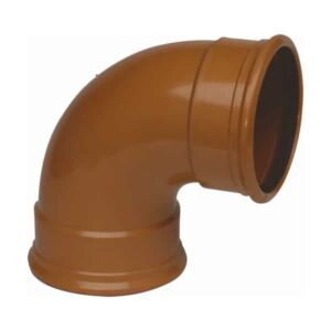 160mm-Underground-Drainage-87.5-degree-Double-Socket-Swept-Bend