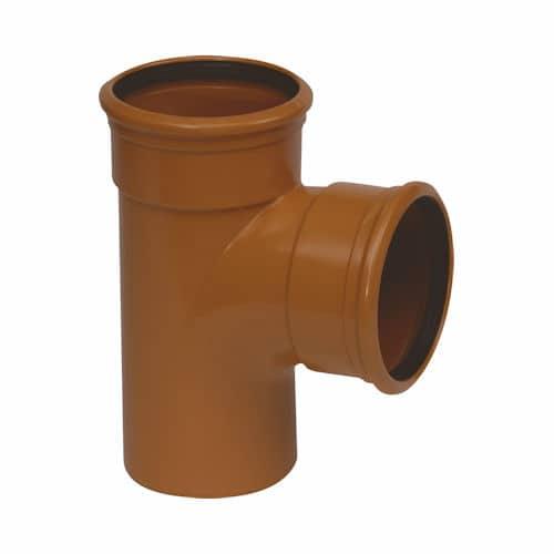 110mm-underground-drainage-87d-double-socket-tee-branch-speedyplastics