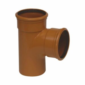 Underground Drainage 90d Double Socket Tee Branch