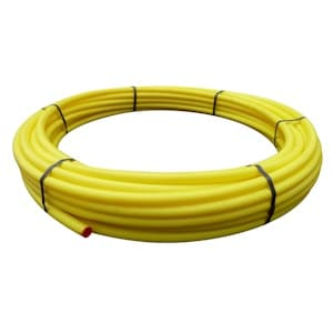 Yellow Gas Pipe MDPE