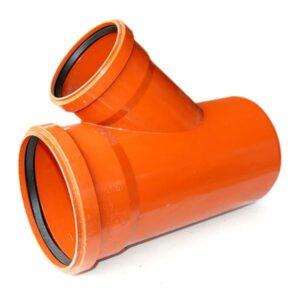 magnaplast-45-degree-double-socket-undergrouund-drainage-un-equal-junction-speedy-plastics