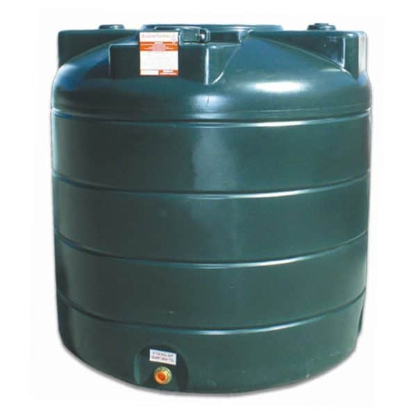 Carbery Single Skin Oil Tank 1350V STGR1350V