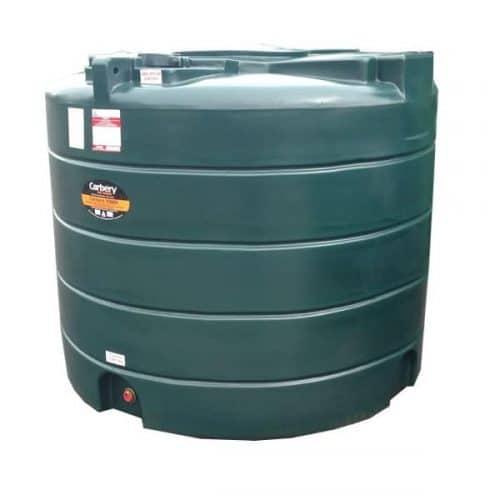 Carbery Single Skin Oil Tank 2500V STGR2500V