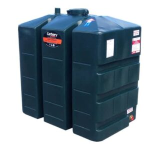 Carbery Single Skin Oil Tank 650L STGR0650R