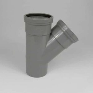 110mm-Pushfit-soil-45d-double-socket-Y-Branch-grey-speedyplastics