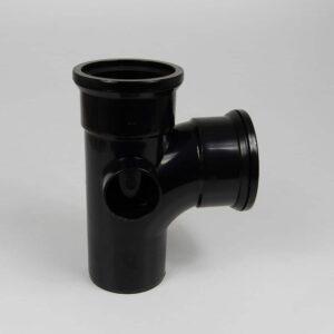 110mm Black Pushfit Soil