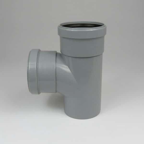 110mm-pushfit-soil-90d-ds-branch-grey-speedyplastics