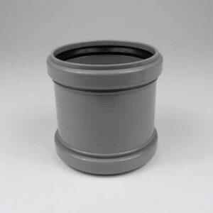 110mm-pushfit-soil-coupler-grey-speedyplastics