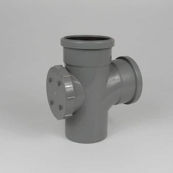 110mm-pushfit-soil-double-socket-access-branch-grey-speedyplastics
