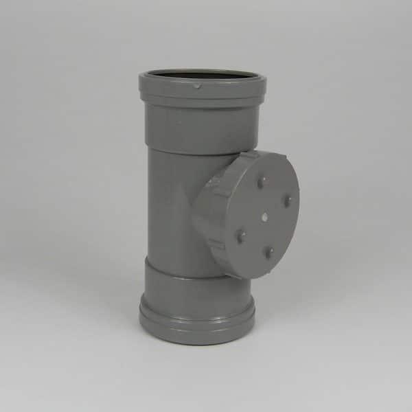 110mm-pushfit-soil-double-socket-access-pipe-grey-speedyplastics
