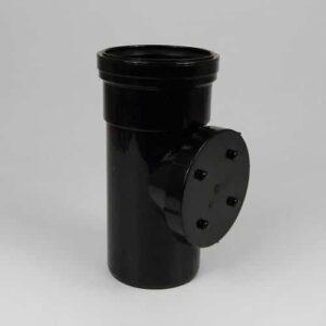 110mm-pushfit-single-socket-access-pipe-black-speedyplastics