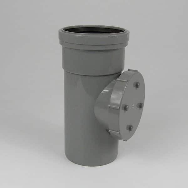 110mm-pushfit-soil-single-socket-access-pipe-grey-speedyplastics