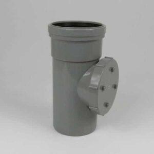 110mm-pushfit-soil-single-socket-access-pipe-grey-speedyplastics