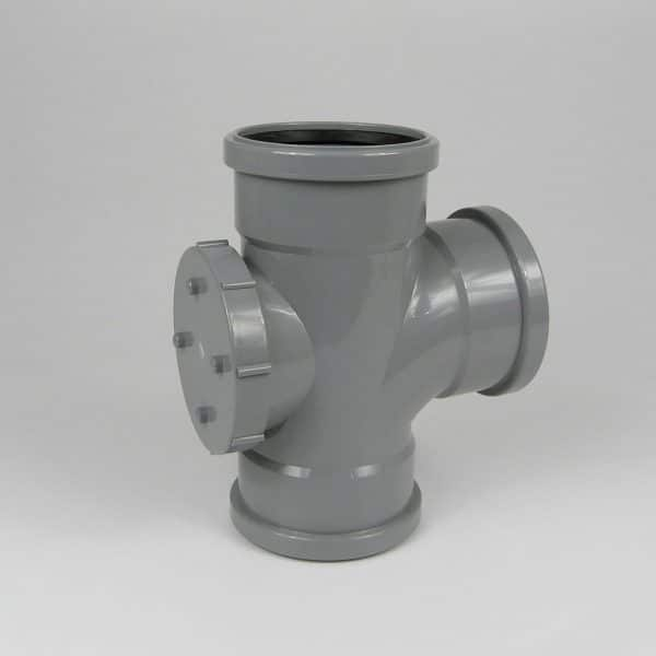 110mm-pushfit-soil-triple-socket-access-branch-grey-speedyplastics