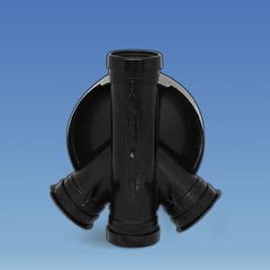 320mm Underground Manhole Chamber Base 3 Inlet 45