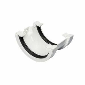 white-half-round-guttering-union-joiner-speedy-plastics