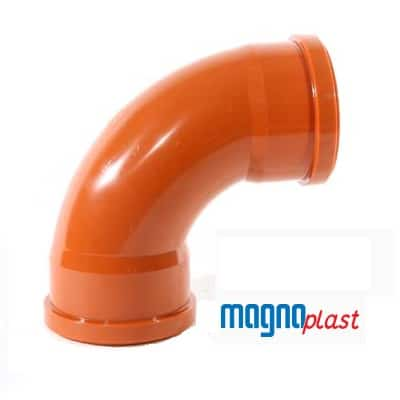 110mm-underground-drainage-magnaplast-90-degree-double-socket-bend-speedy-plastics