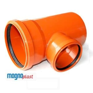 160mm-underground-drainage-magnaplast-87-degree-double-socket-unequal-branch-speedy-plastics
