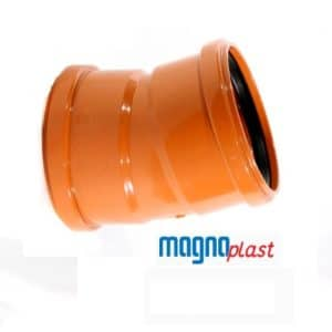 underground-drainage-magnaplast-15-degree-double-socket-bend-speedy-plastics