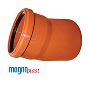 underground-drainage-magnaplast-15-degree-single-socket-bend-speedy-plastics