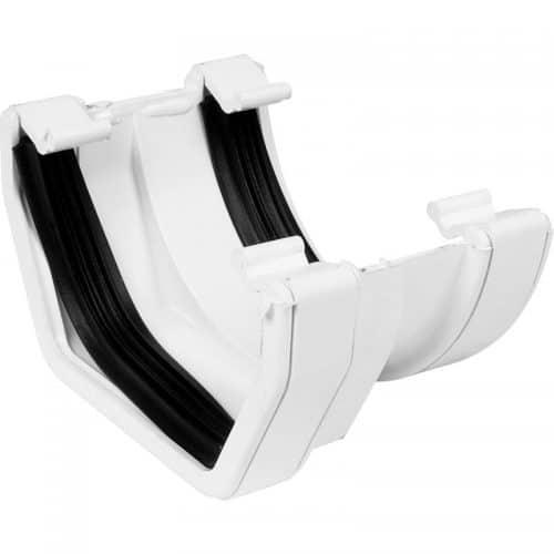 white-square-line-guttering-adaptor-speedy-plastics