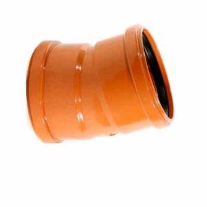 underground-drainage-magnaplast-15-degree-double-socket-bend-speedy-plastics1