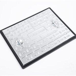 Clarks-PC6AG-600-x-450-Galvanised-Cover-Frame-Pedestrian