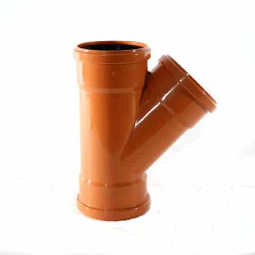 110mm-underground-drainage-45-degree-double-socket-junction