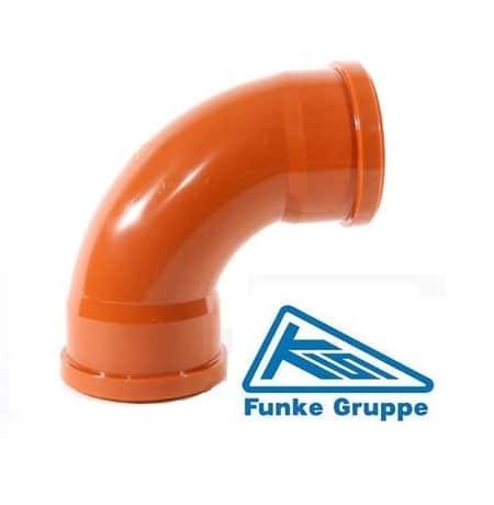 underground-drainage-funke-87-degree-double-socket-swept-bend-speedy-plastics