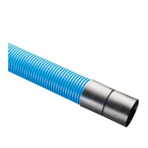 Blue 'Water' Twin Wall Ducting 6m Lengths