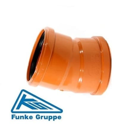 underground-drainage-15-degree-double-socket-bend-funke-speedy-plastics