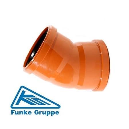 underground-drainage-30-degree-double-socket-bend-funke-speedy-plastics