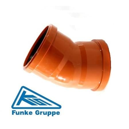 underground-drainage-45-degree-double-socket-bend-funke-speedy-plastics