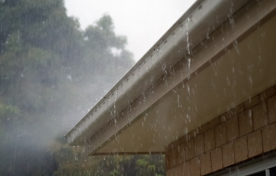 Check your Guttering to Prepare for a Rainy Day