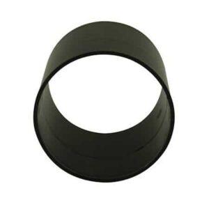 110mm-solvent-weld-slip-coupler-black