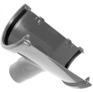 170mm-grey-commercial-guttering-running-outlet