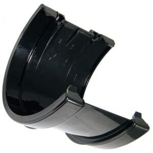 170mm-black-commercial-guttering-union-joiner