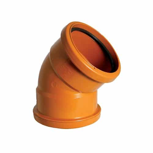 floplast-110mm-underground-drainage-double-socket-45d-bend