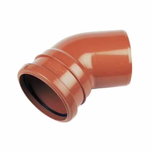 floplast-110mm-underground-drainage-single-socket-45d-bend