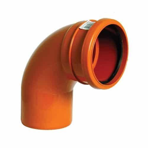floplast-110mm-underground-drainage-single-socket-87.5-bend