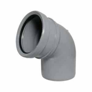 110mm-push-fit-soil-112-degree-bend-single-socket-grey