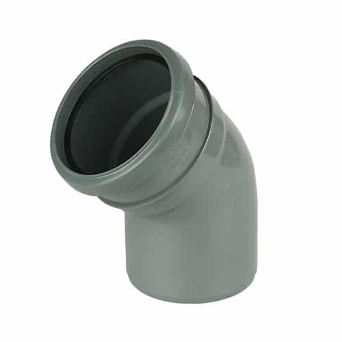 110mm-push-fit-soil-135-degree-bend-single-socket-grey