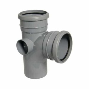 110mm-push-fit-tee-branch-double-socket-grey