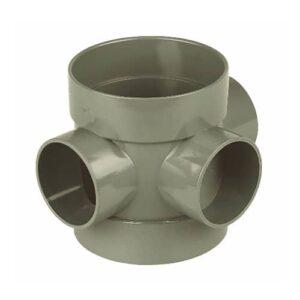 110mm-short-boss-pipe-olive-grey