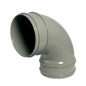 110mm-solvent-92.5d-bend-double-socket-olive-grey
