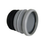 Universal Soil Pipe Connector Grey 110mm Floplast SP140G