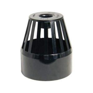 110mm-vent terminal-black