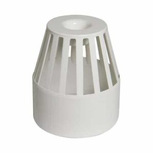 110mm-vent terminal-white